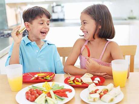 Hacer que los niños coman sin problema