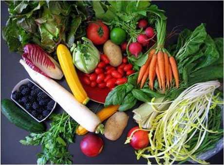 Alimentos naturales y orgánicos