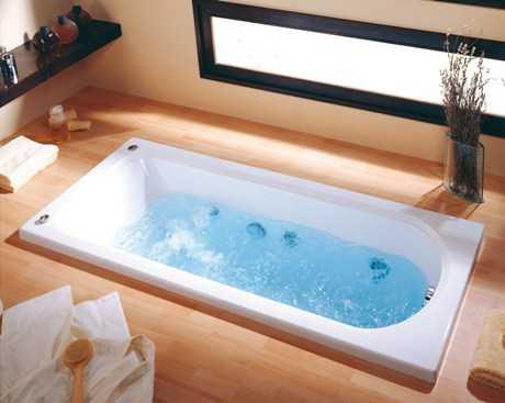 Tendencia en bañeras