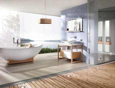 Decoración natural en baños