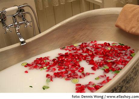 preparar un baño