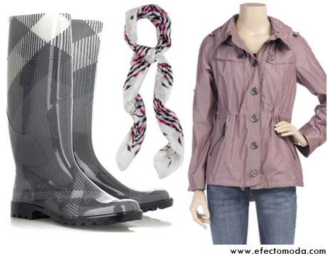 botas chic lluvia