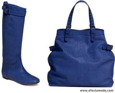 botas y bolso