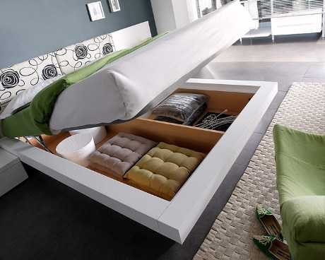 Aprovechar los espacios en el dormitorio