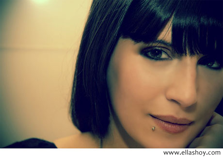 chica con maquillaje