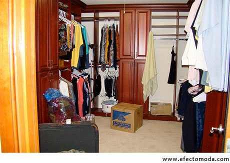closet ordenado