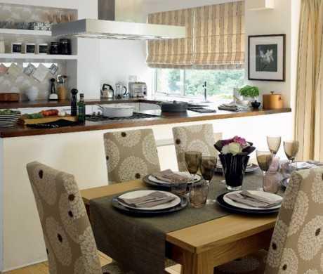 cómo integrar la cocina y el comedor