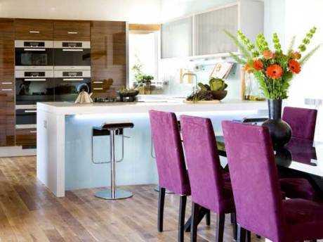 Cómo ampliar el espacio entre la cocina y el comedor