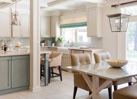 Cómo decorar la cocina y el comedor