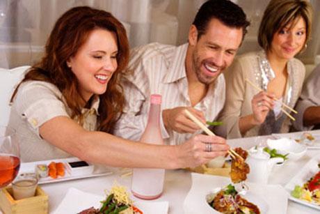 comer fuera de casa y no romper la dieta