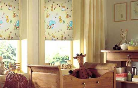 Consejos para escoger las cortinas para niños