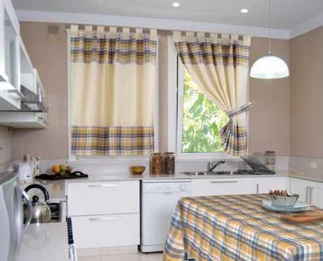 Tipos de cortinas para la cocina