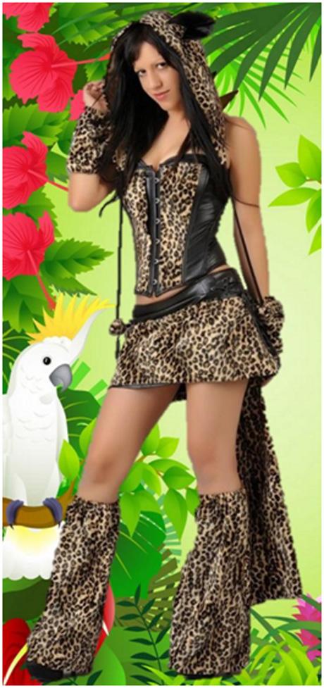 Disfraz Chica Tigresa