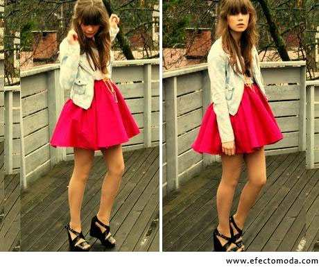 falda ampona