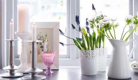 Decorar con flores el hogar