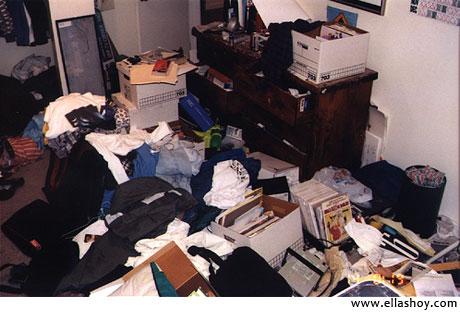 habitacion desordenada