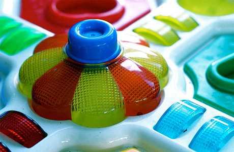 Juguetes apropiados para bebés