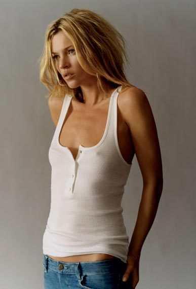 Modelo Kate Moss