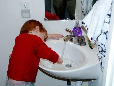 Importancia de lavar las manos