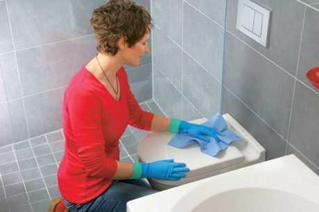 Cómo limpiar el baño rápidamente