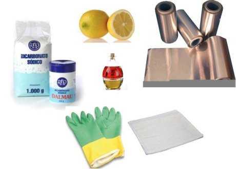 Cómo limpiar los objetos de plata