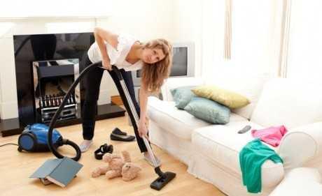 Cómo limpiar el salón de manera rápida