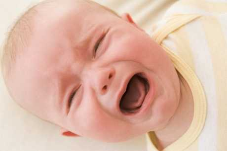 Crisis de llanto en el bebé