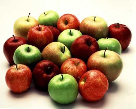 comer una manzana diaria