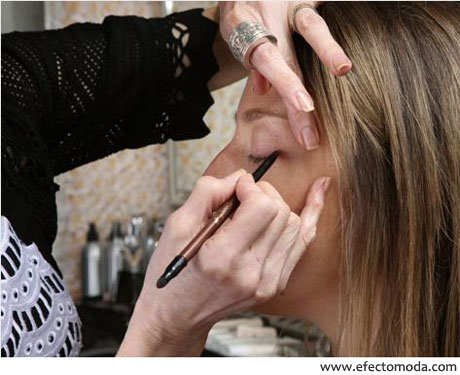 maquillaje sandy linter