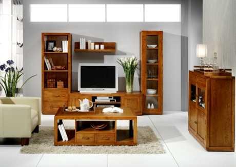 Decorar el salón con un mueble para la televisión