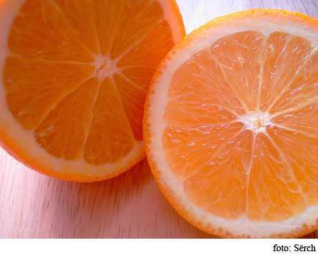 consumir naranjas