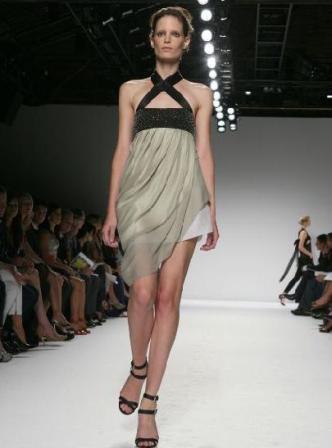 Diseño de Narciso Rodríguez, colección primavera verano 2009