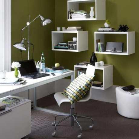 Cómo  iluminar la oficina en casa