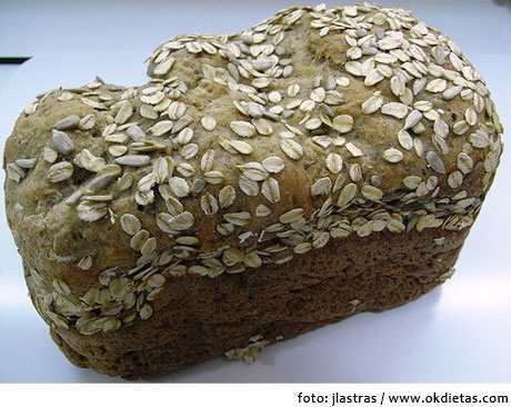 componentes del pan