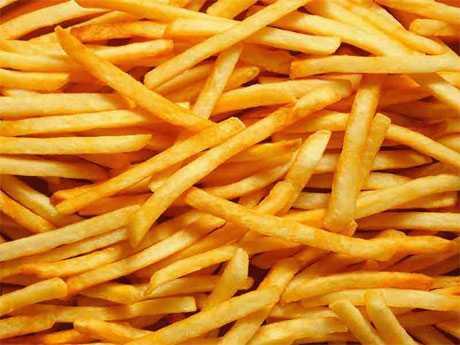 Las patatas fritas causan obesidad