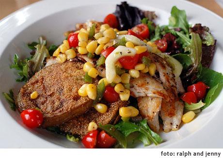 pescado vegetales