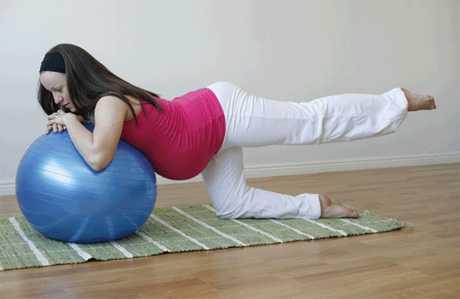 Practicar pilates en el embarazo