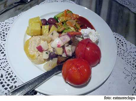 porciones alimentarias