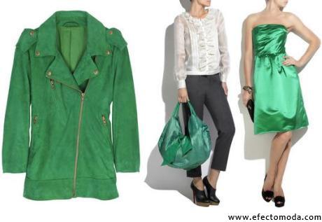prendas color verde