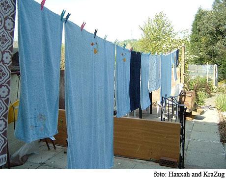 blanquear prendas antiguas