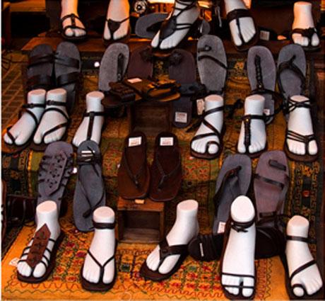 calzados para usar verano