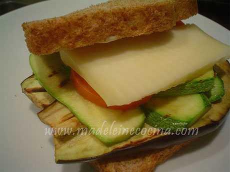sandwich de hortalizas