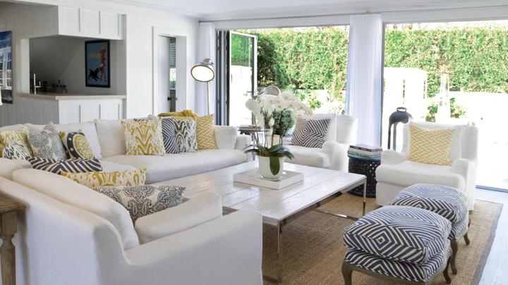 Elegir un sofá blanco