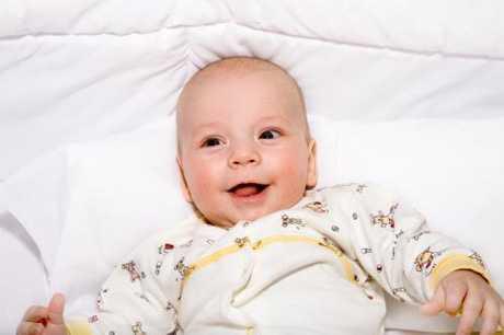 Primera sonrisa del bebé