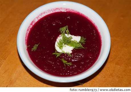 Recetas de sopas frías