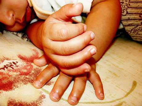 Cuidados uñas del bebé