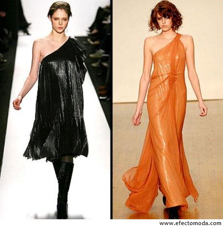 vestidos con una sola manga