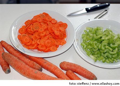 zanahoria apio