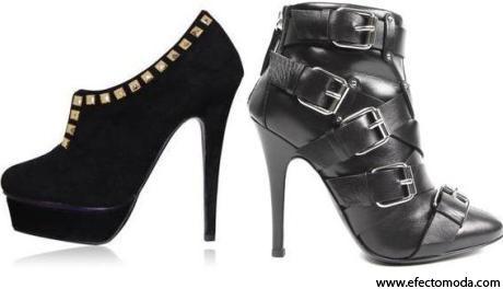 zapatos tacón negro 3