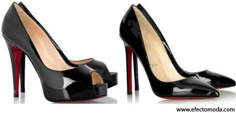 zapatos tacón negro 4